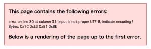 RSS Error1