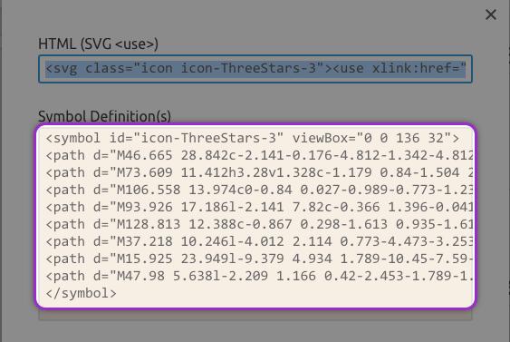 IcoMoonででてきたSVGアイコンのコード2